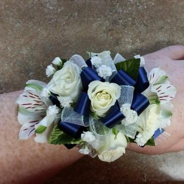 Rose and Alstroemeria Corsage
