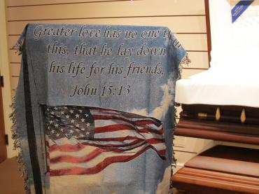 Salute to Our Soldiers Blanket/Throw