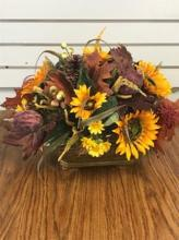 Fall Silk Center Piece