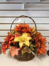 Fall Silk Basket