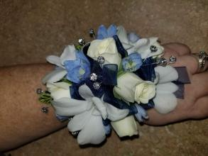 Orchids and Roses Wrist Corsage