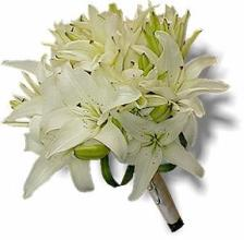 White Lily Nosegay